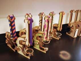 显微镜模型 3D模型