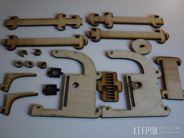 显微镜模型 3D模型  图4