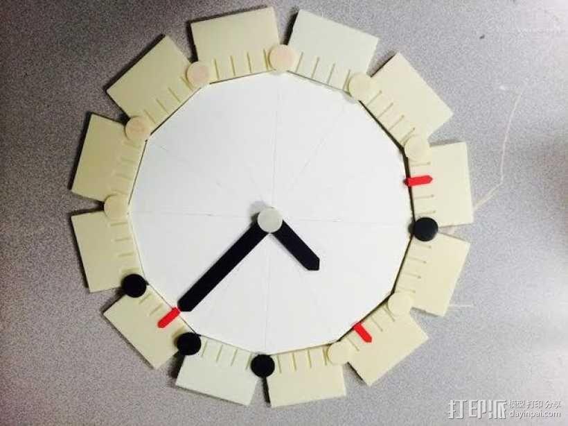 时钟 3D模型  图1