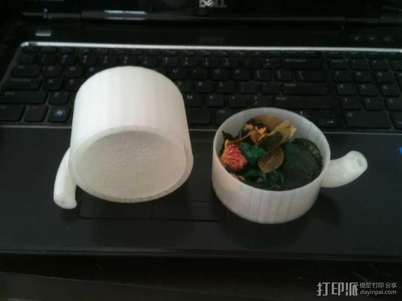 克莱因瓶马克杯 3D模型  图2