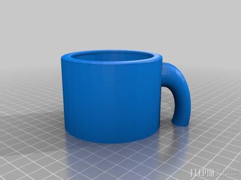 克莱因瓶马克杯 3D模型  图6