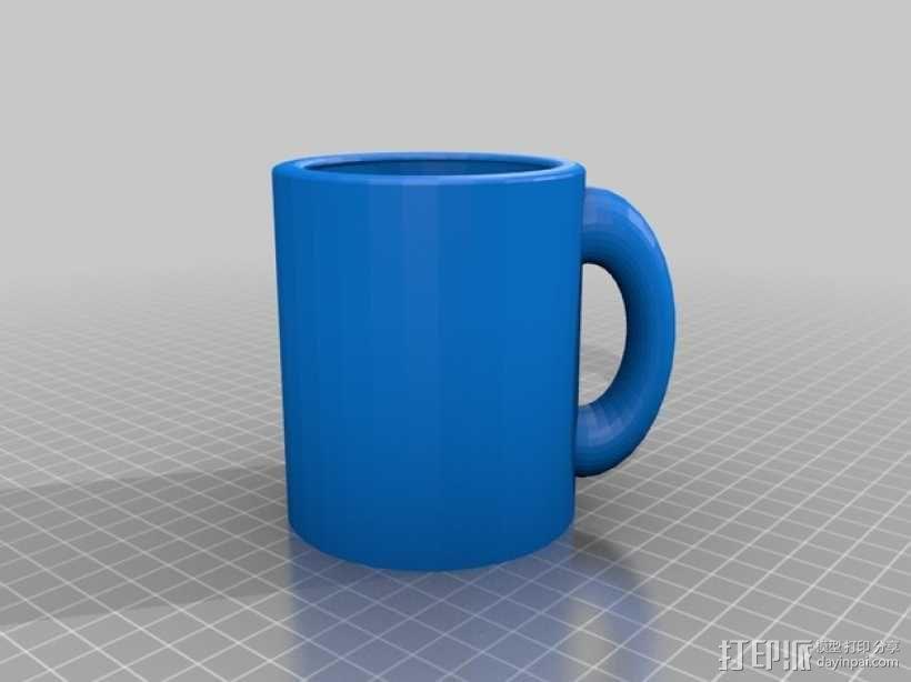 克莱因瓶马克杯 3D模型  图5