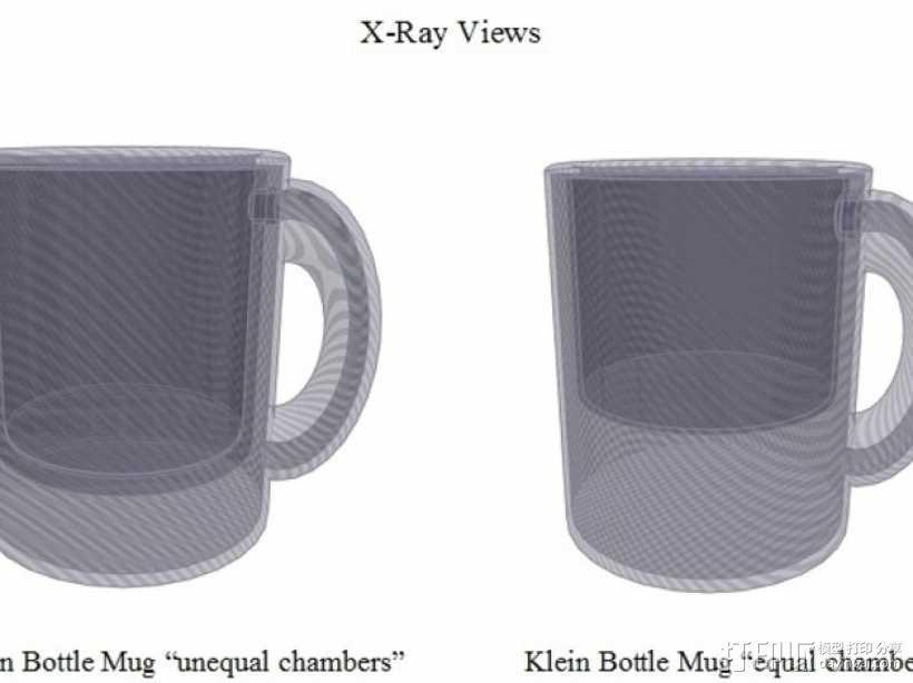 克莱因瓶马克杯 3D模型  图4