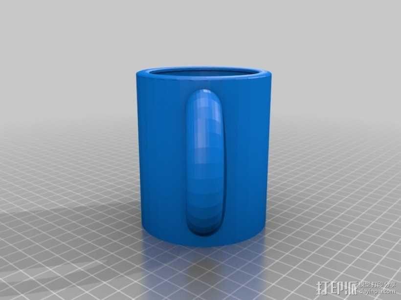 克莱因瓶马克杯 3D模型  图8