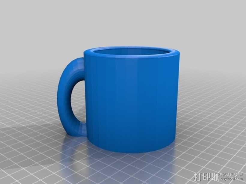 克莱因瓶马克杯 3D模型  图9