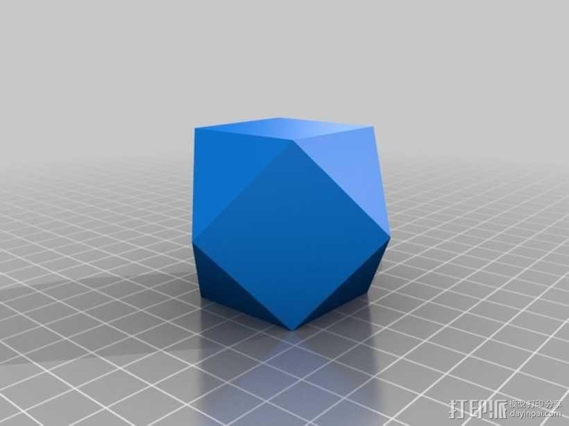 多面体 几何体 3D模型  图3