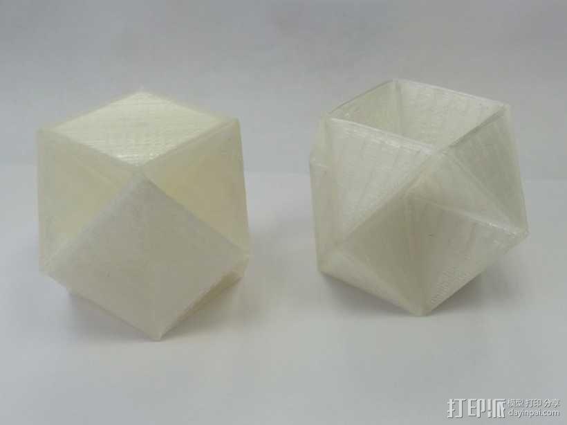 多面体 几何体 3D模型  图1