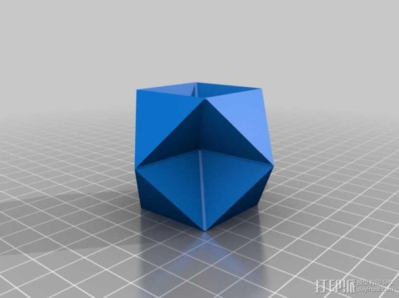多面体 几何体 3D模型  图6