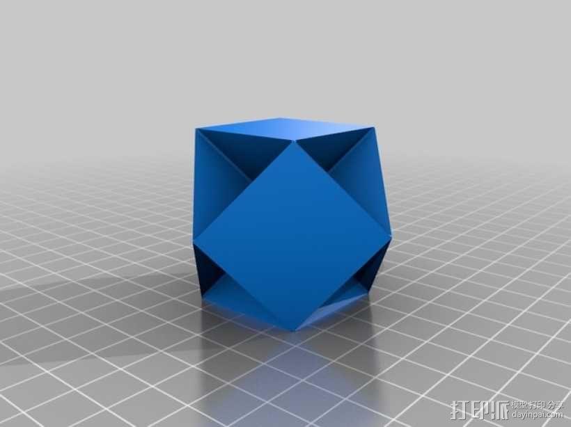 多面体 几何体 3D模型  图5