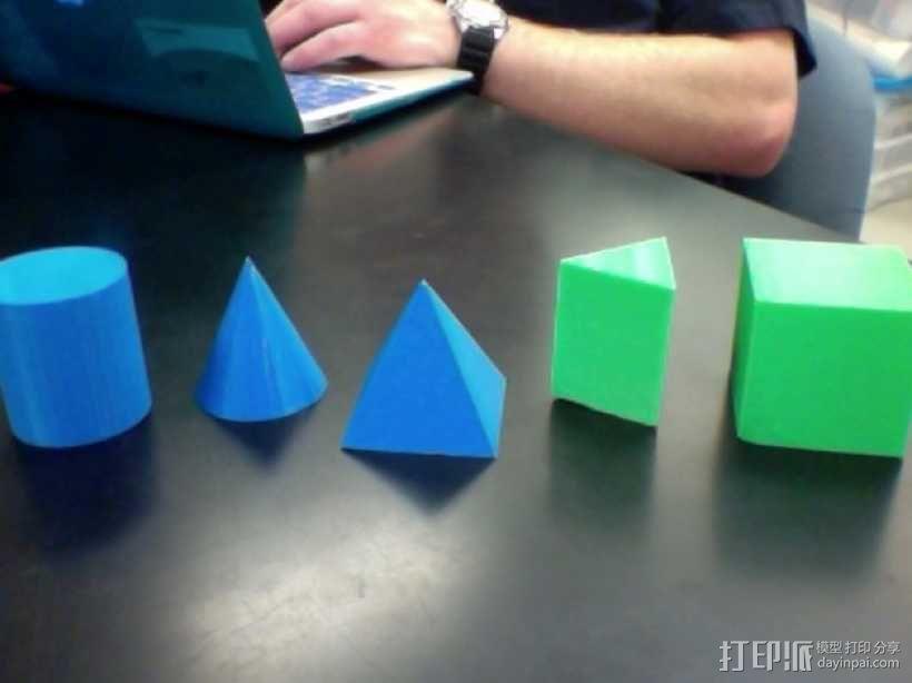 几何体  3D模型  图1