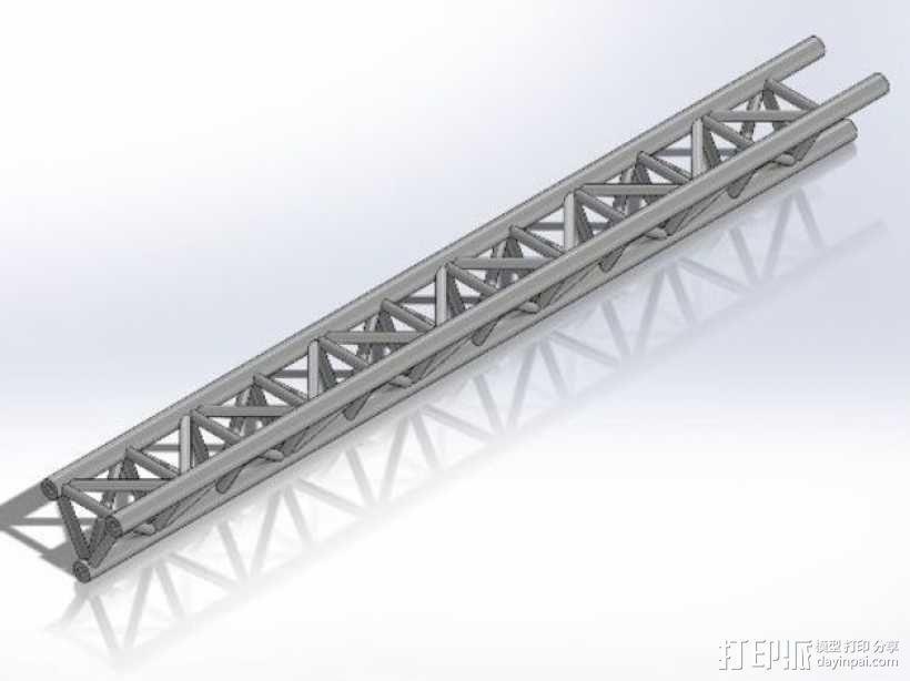 桁架 3D模型  图1