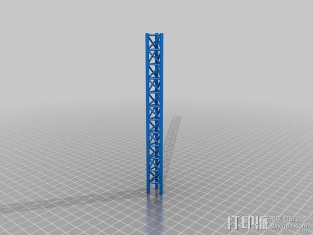 桁架 3D模型  图2