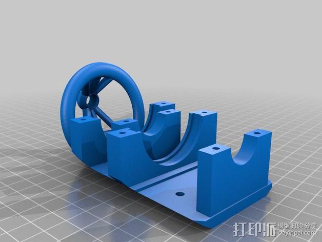 风车 实验装置 3D模型  图2