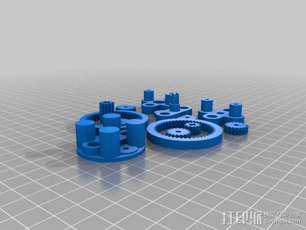 风车 实验装置 3D模型  图3