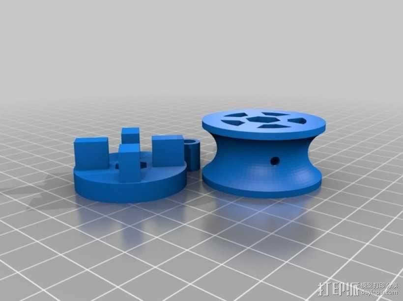 风车 实验装置 3D模型  图4