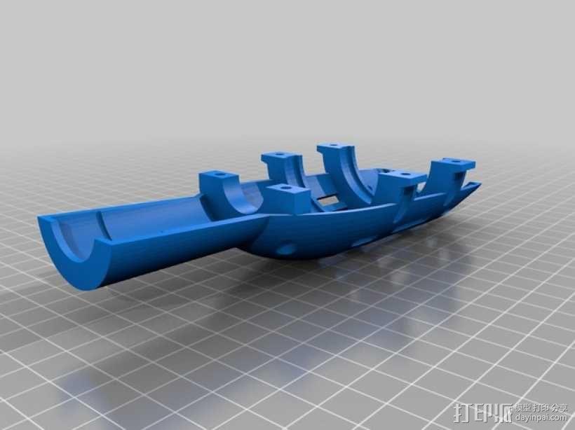 风车 实验装置 3D模型  图6