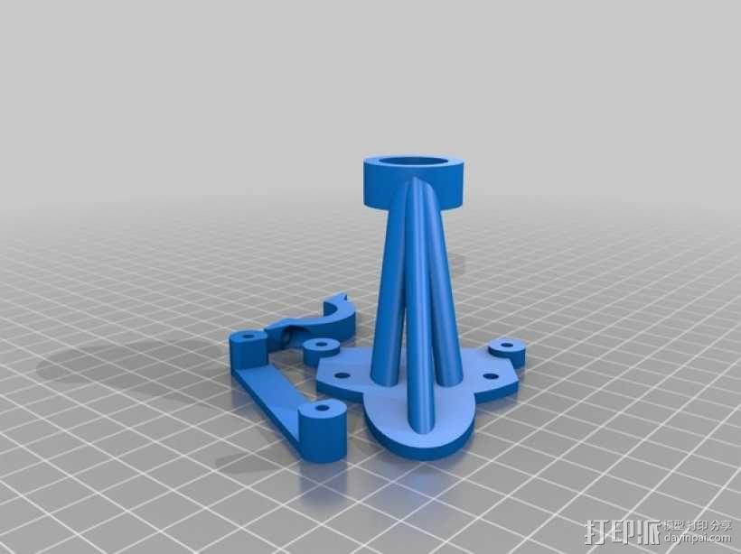 风车 实验装置 3D模型  图5