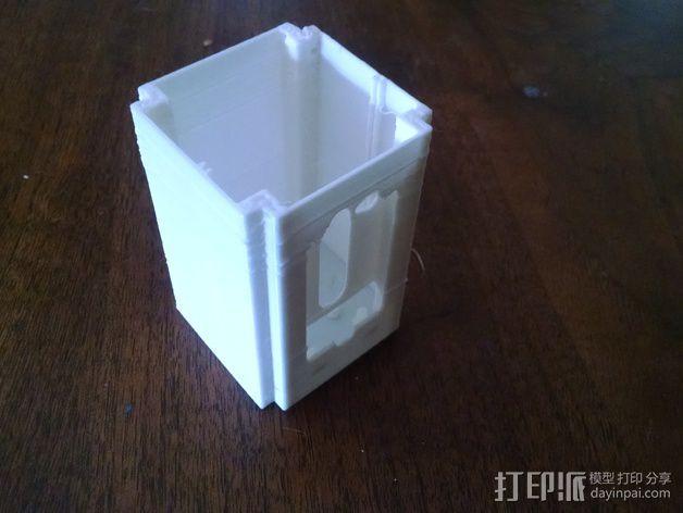 电子设备舱 盒子 3D模型  图4