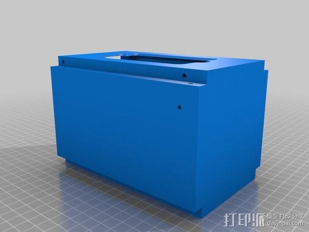电子设备舱 盒子 3D模型  图2