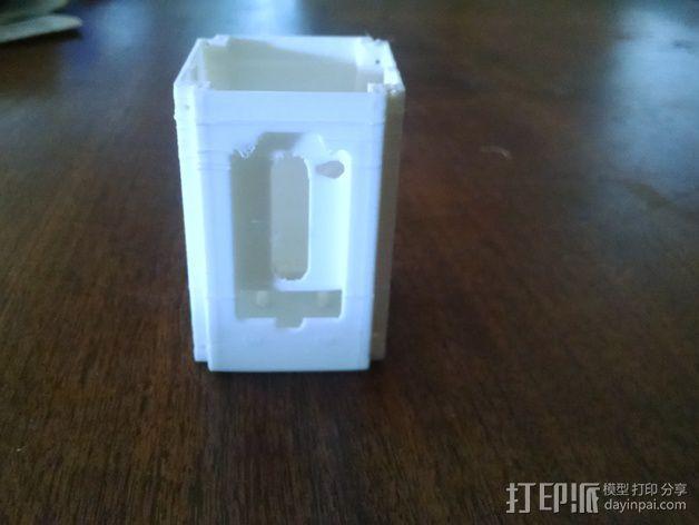 电子设备舱 盒子 3D模型  图1