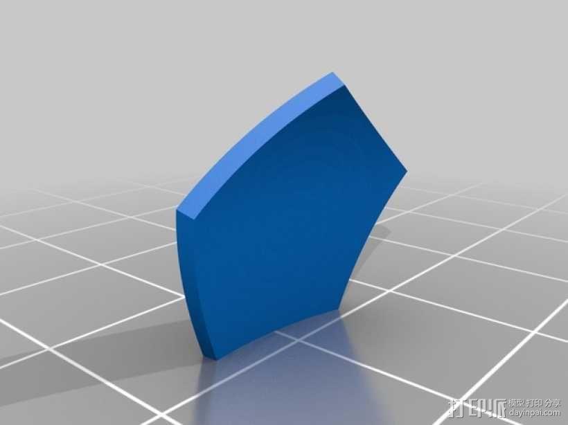 几何球体 3D模型  图3