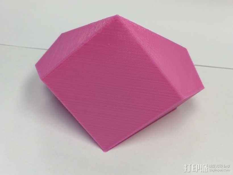 赫歇尔九面体 3D模型  图1