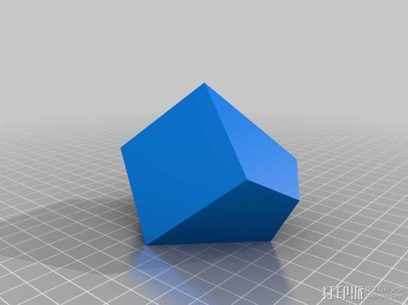 赫歇尔九面体 3D模型  图2