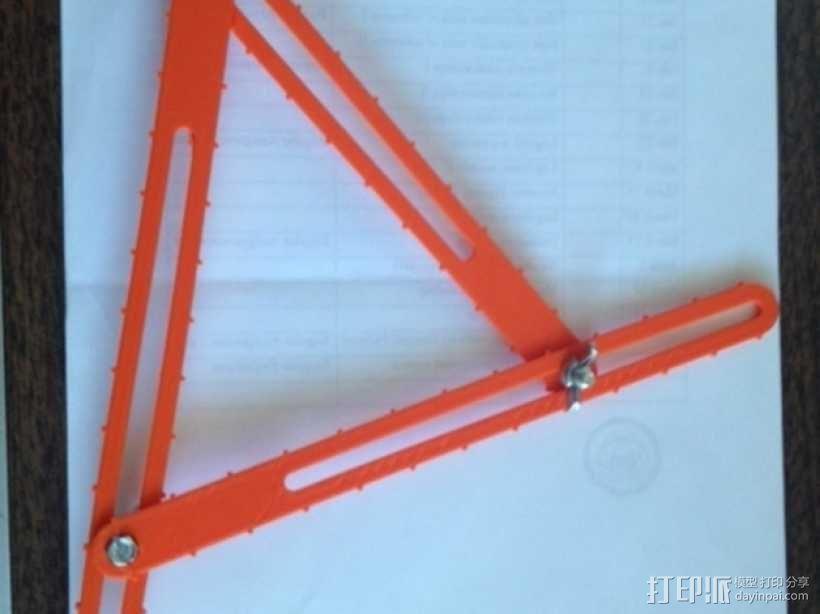 三角形工具 3D模型  图3