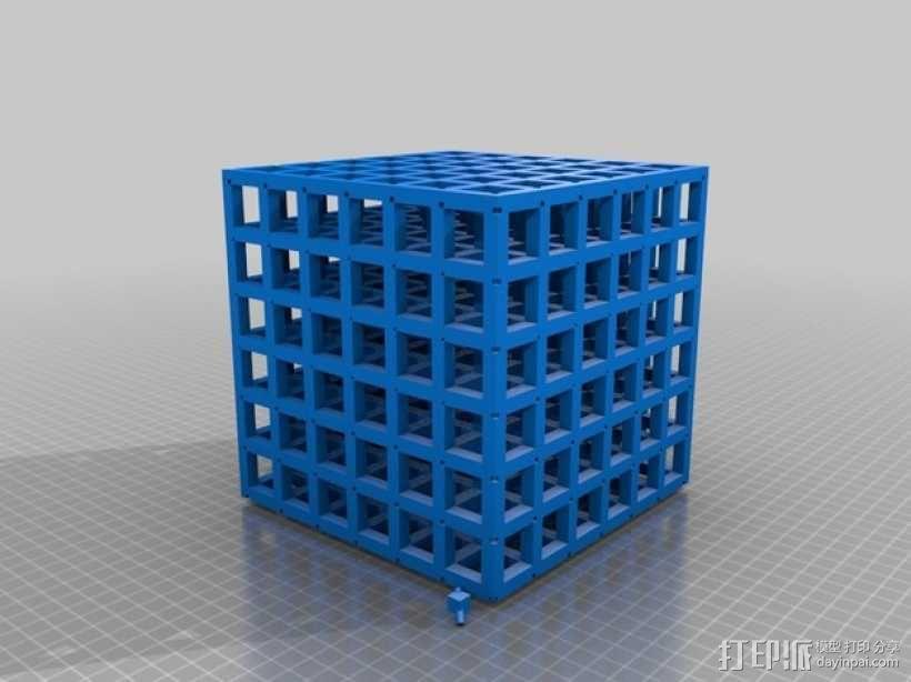 正方体 数学模型 3D模型  图1