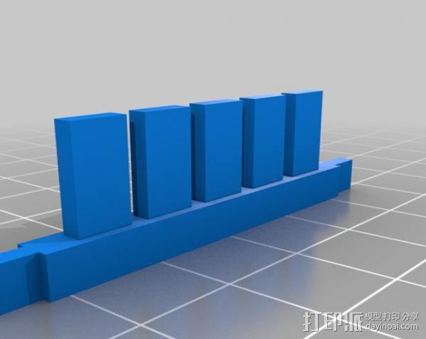 电泳槽 3D模型  图3