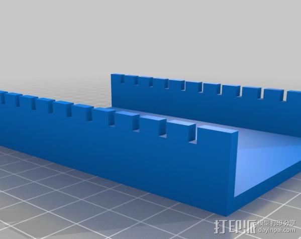 电泳槽 3D模型  图4