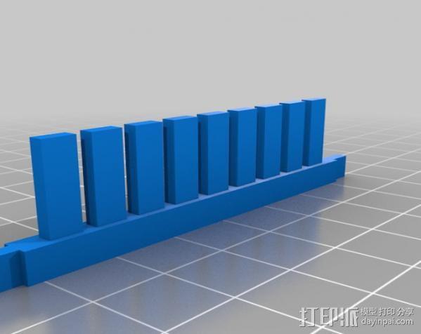 电泳槽 3D模型  图6