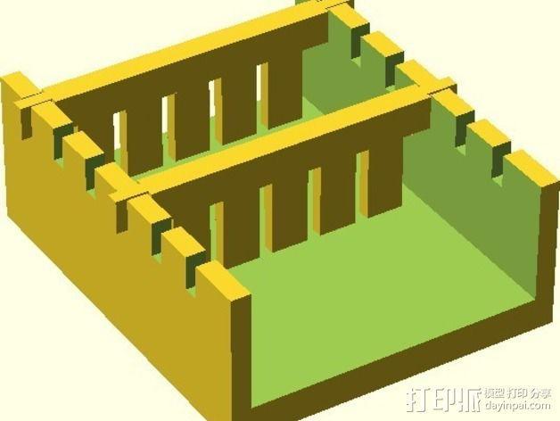 电泳槽 3D模型  图8