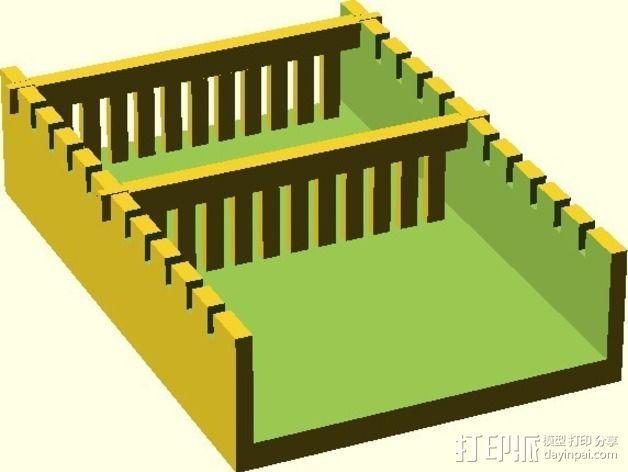 电泳槽 3D模型  图9