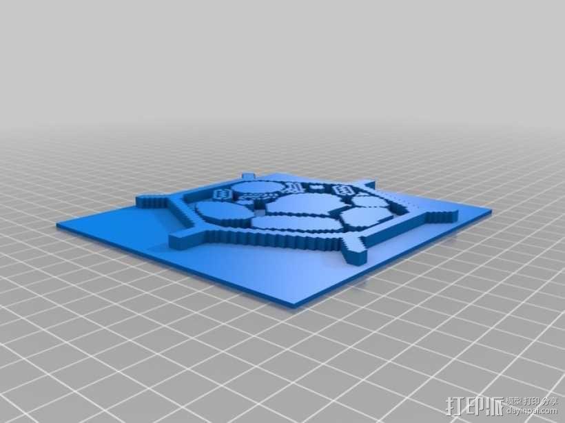 植物细胞模型和动物细胞模型 3D模型  图1