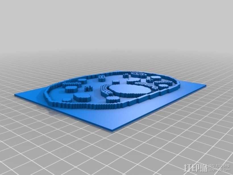 植物细胞模型和动物细胞模型 3D模型  图3