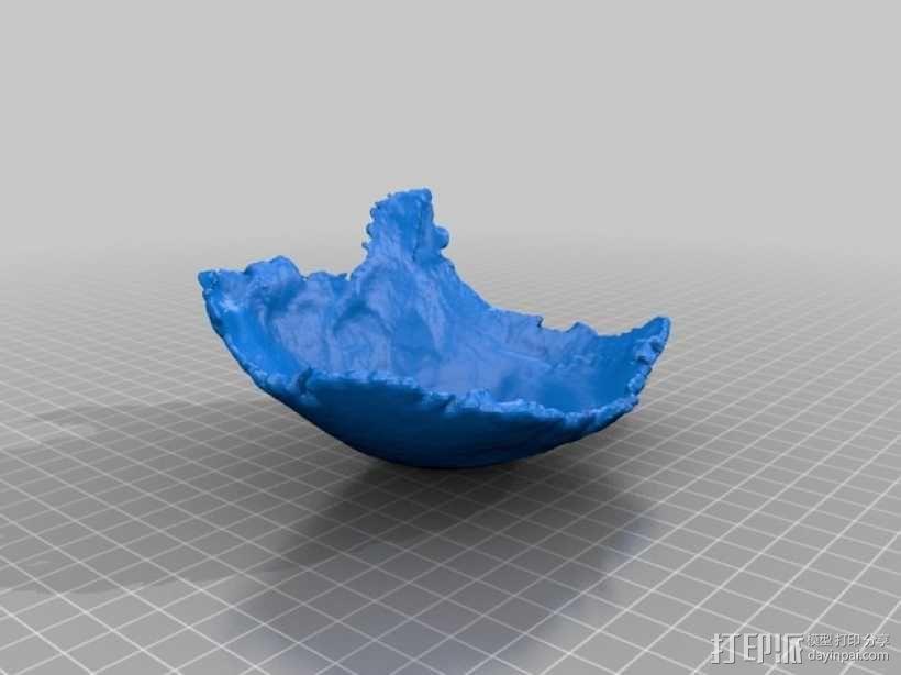 右顶骨模型 3D模型  图1