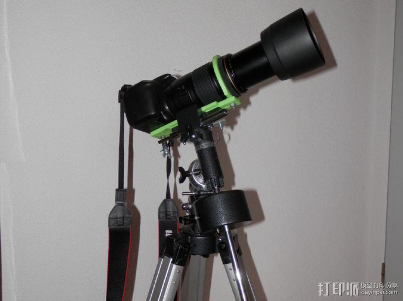 单眼数位相机相机架 3D模型  图1