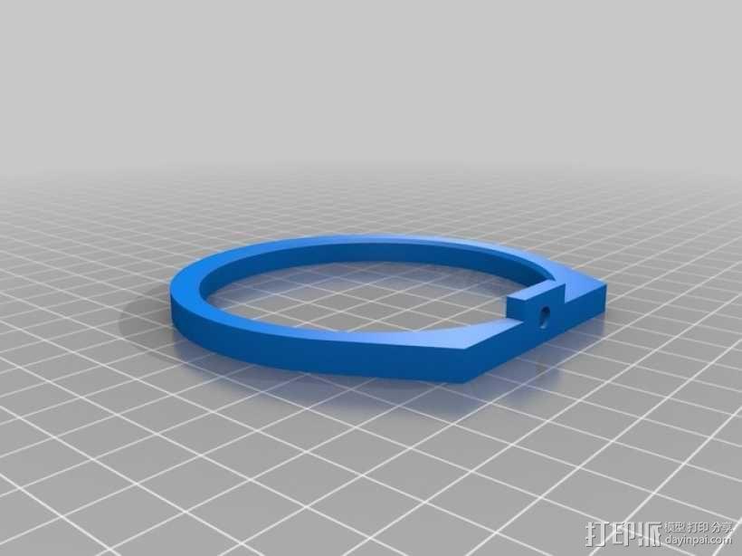 单眼数位相机相机架 3D模型  图2