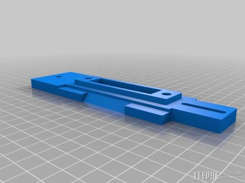 单眼数位相机相机架 3D模型  图3