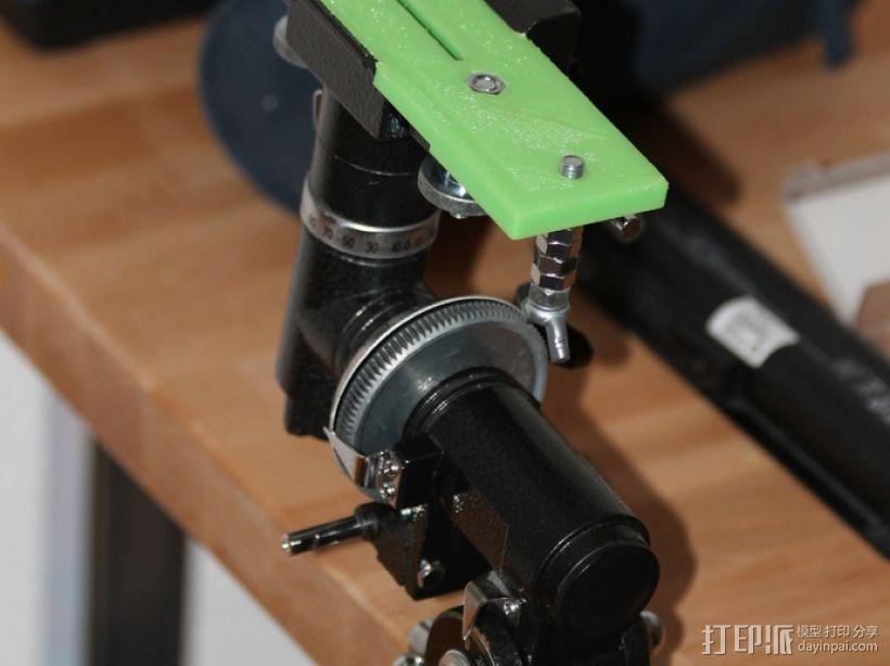 单眼数位相机相机架 3D模型  图5
