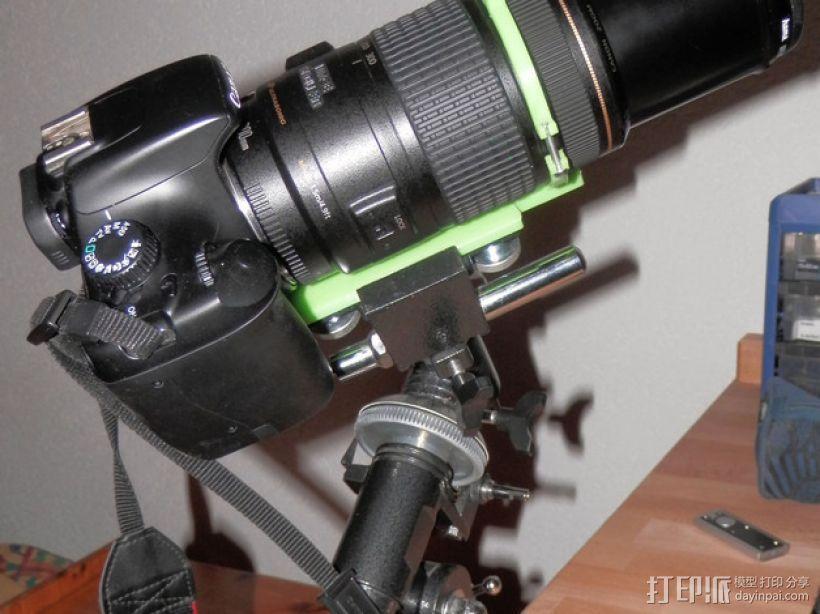 单眼数位相机相机架 3D模型  图6