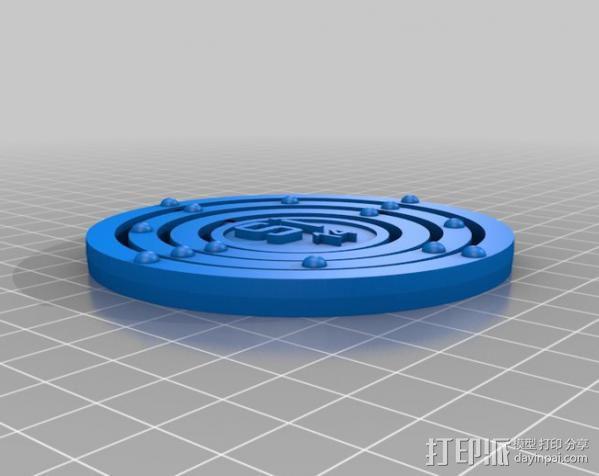 硅元素模型 3D模型  图2