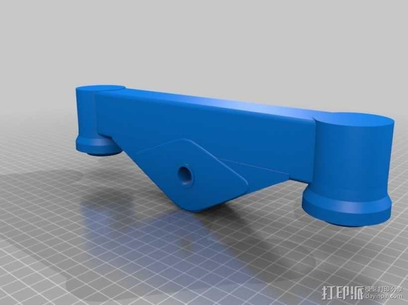 过山车车厢模型 3D模型  图2
