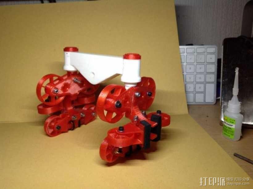 过山车车厢模型 3D模型  图3