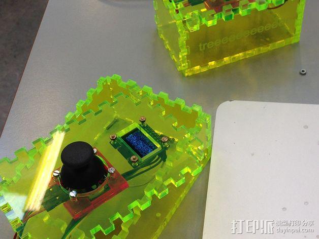 控制箱 控制器机箱 3D模型  图1