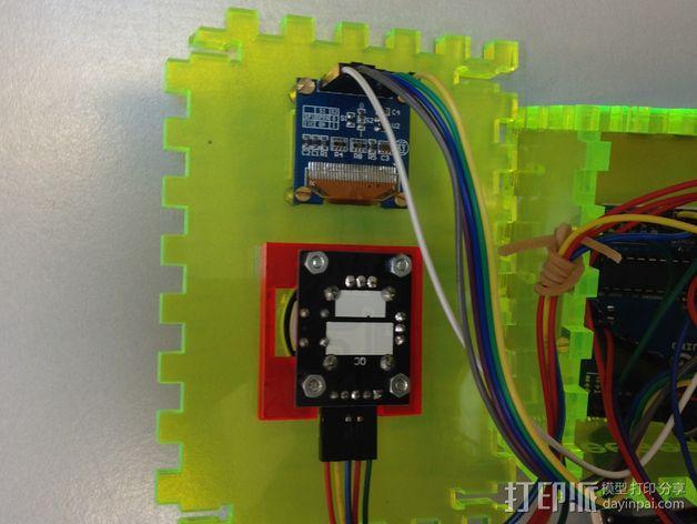控制箱 控制器机箱 3D模型  图3