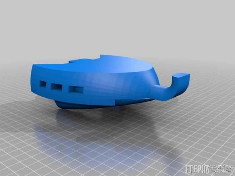 火星基地 太空舱模型 3D模型  图2