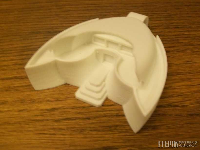 火星基地 太空舱模型 3D模型  图3
