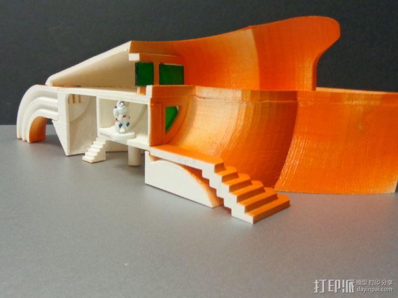 火星基地 太空舱模型 3D模型  图5